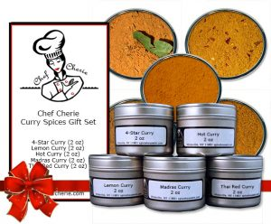 Chef Cherie - Website, Amazon Store and Hang Tag Graphic for spice gift set
