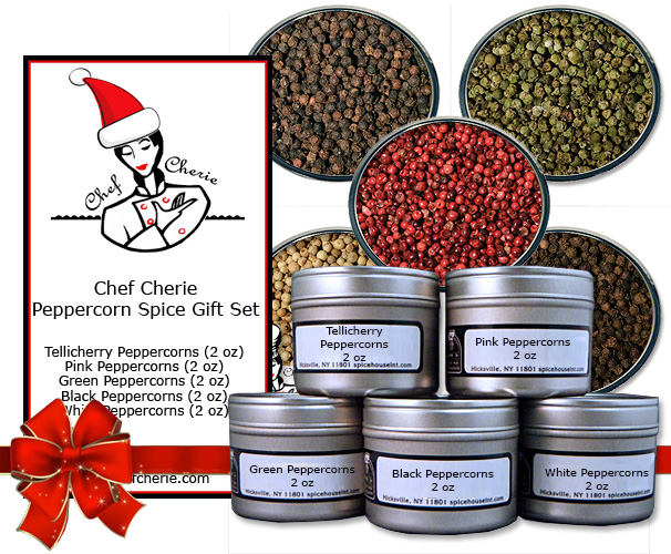 Chef Cherie Photos - Website, Amazon Store and Hang Tag Graphic for spice gift set