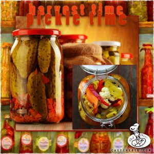 Chef Cherie - Website, Blog & Social Media Graphic promoting Pickling Spices