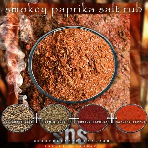 Smokehouse Spices - Website, Blog, Recipe & Social Media Graphic Promoting BBQ spice rub