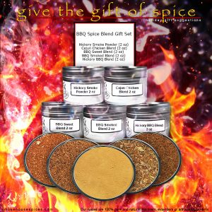 Chef Cherie - Website, Blog and Social Media Graphic for spice gift set