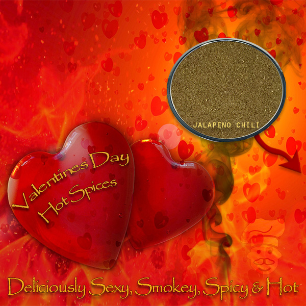 Spicehouse USA - 3 versions of a Spicy Valentine's Day promotion for social media