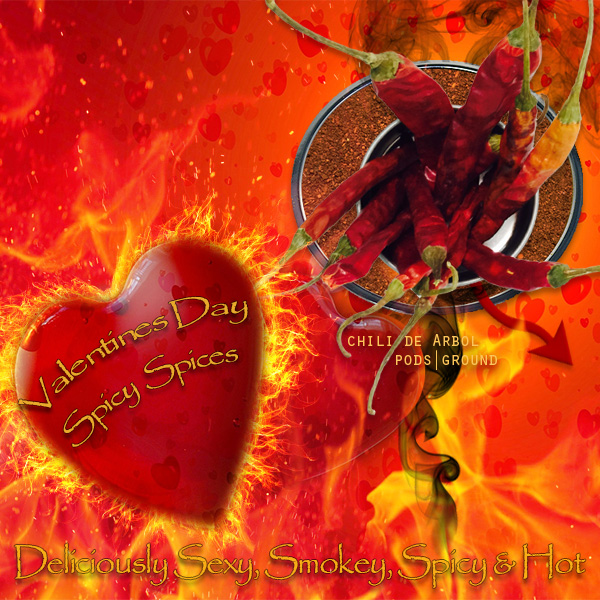 Spicehouse USA - 1 of 3 versions of a Spicy Valentine's Day promotion for social media