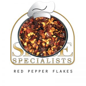 Spice Specialist- Website, Blog & Social Media Graphic promoting spice Red  Pepper