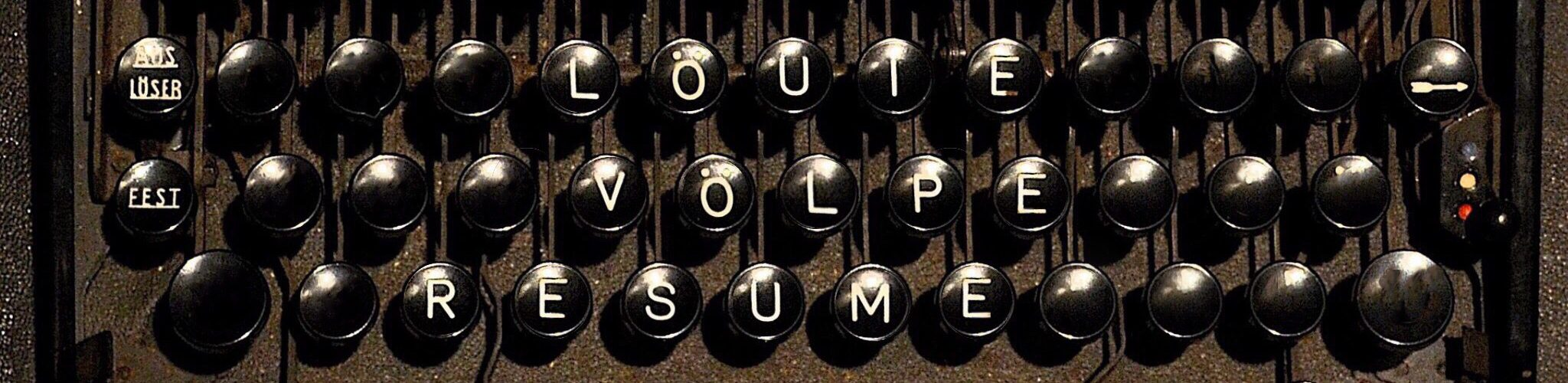Louie Volpe | Resume